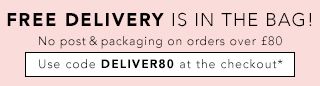 Free Delivery On Orders Over £80 - use code DELIVER80 at checkout